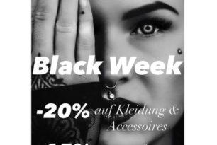 Nächste Woche ist die Black Week und wir  hauen jetzt richtig einen raus! *