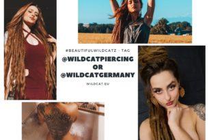 Habt ihr Schmuck von Wildcat? Dann taggt @Wildcatpiercing oder @wildcatgermany in euren Insta Posts